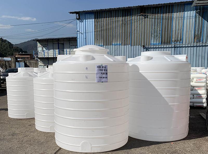 <b>2吨塑料水箱_塑料水塔_化工储罐</b>