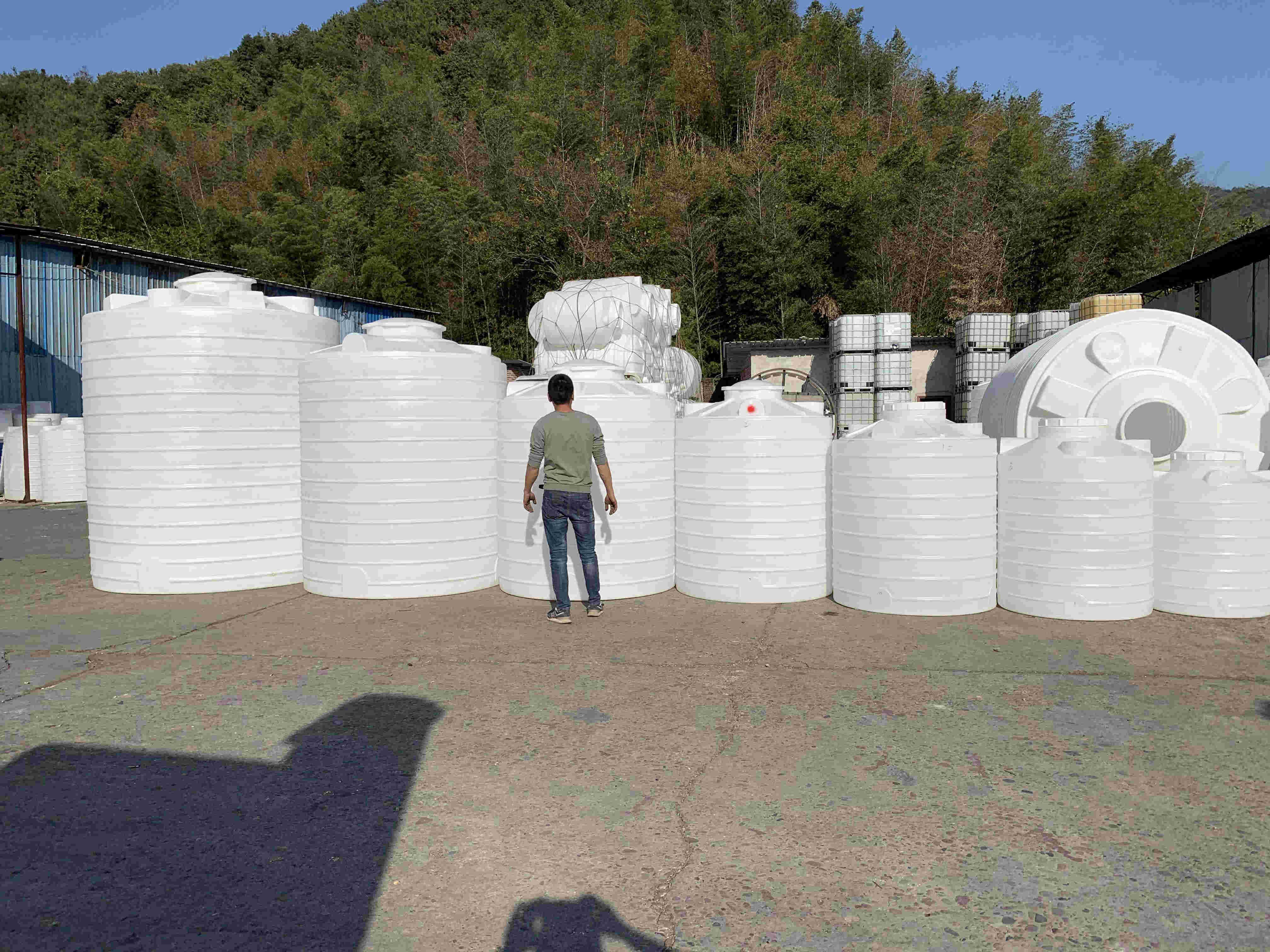 莆田5立方工业储水罐塑料水箱可定做