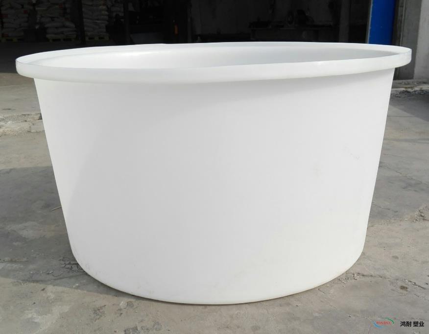 600L塑胶圆储桶 吨桶塑料桶
