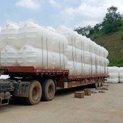 1.5立方pe三格塑料化粪池整车发往江西上饶