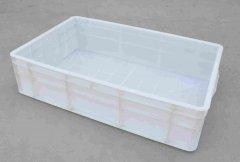 50个200L和50个400L塑料方箱如期发往浙江余姚