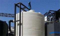 <b>「龙岩30吨塑料水箱」pe水箱底部接头怎么安装 塑料水塔安装示意图</b>