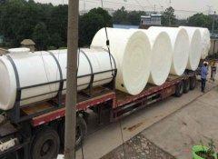 「南平塑料水箱批发」大型塑料水塔在运输的过程中需要注意什么