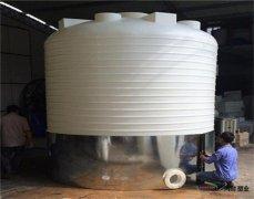 「广西pe塑料水塔」pe水塔厂家制作工艺介绍 15吨塑料水塔专业制作