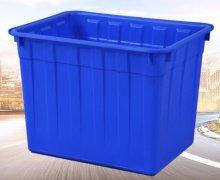 300L塑料周转箱物流箱pe方箱