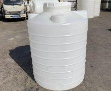 上饶2吨酸碱废液储罐 2立方PE加厚耐腐蚀化工桶