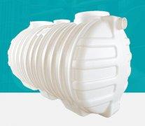 2立方PE一体三格式塑料化粪池白色