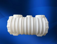 2吨加厚三格一体塑料化粪池污水处理