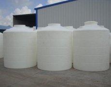 15吨水处理加厚塑料工业储水罐减水剂塑料水塔