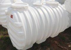 新农村厕所加厚三格环保化粪池1.5立方PE隔油池