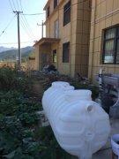 1吨家用pe三格式化粪池发往江西赣州信丰县