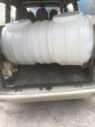 南昌市湾里区客户订购的2立方pe塑料化粪池已发货