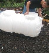 1.5立方pe塑料化粪池送达上饶市玉山县