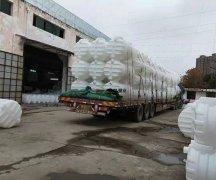 3立方新农村厕改pe塑料化粪池发往江西赣州市龙南县