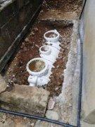 1.5立方家用塑料化粪池运抵抚州临川区安装施工